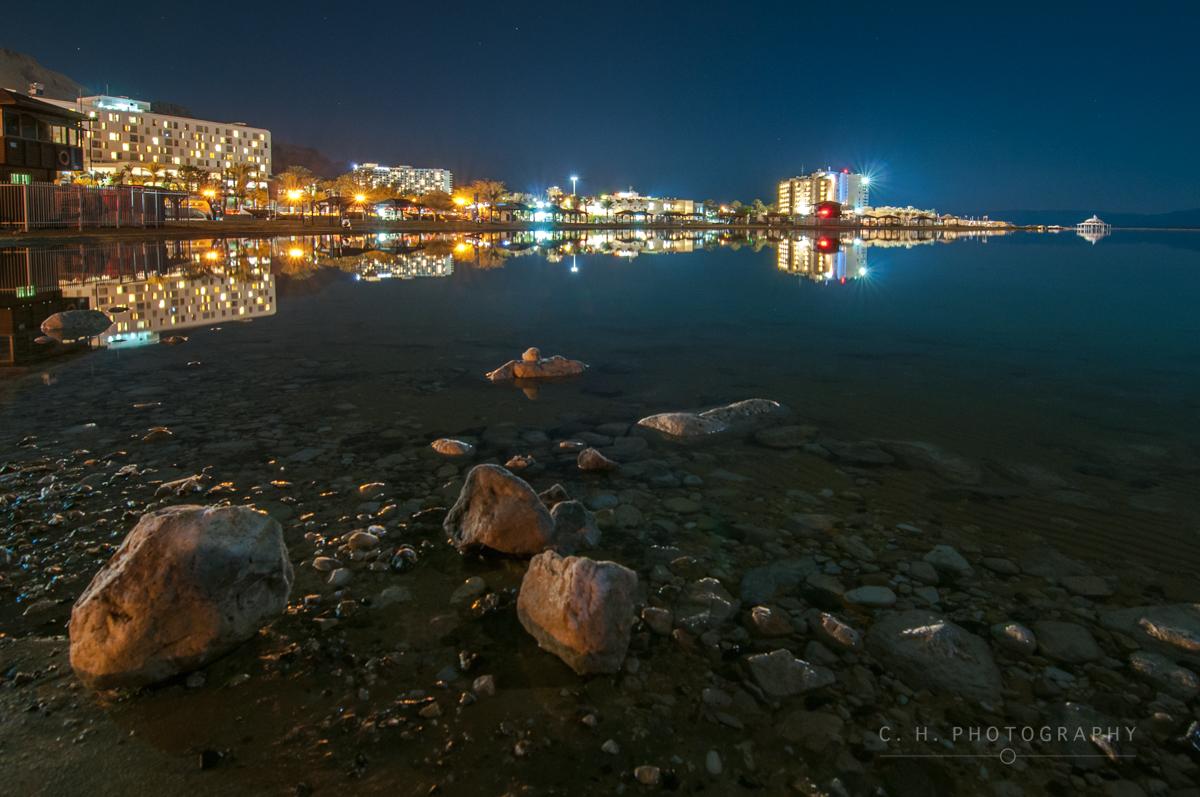 Hotel Lights - Dead Sea, Israel