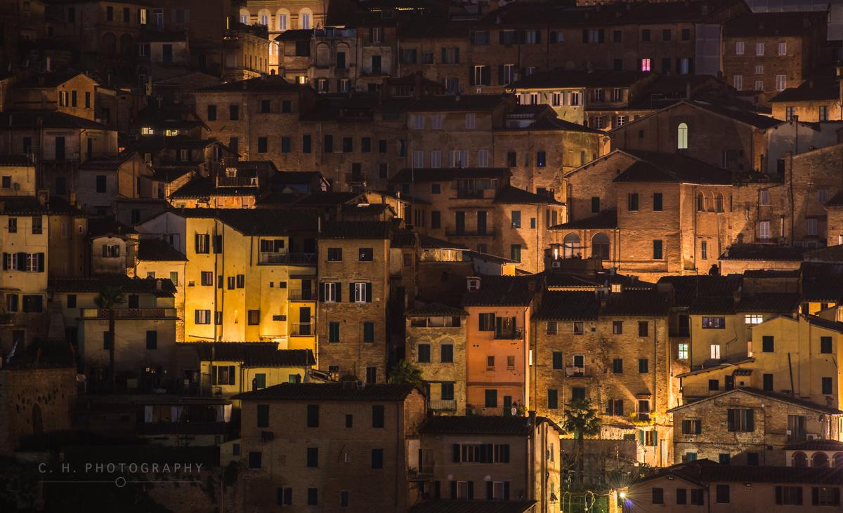 Medieval Houses - Siena, Italy