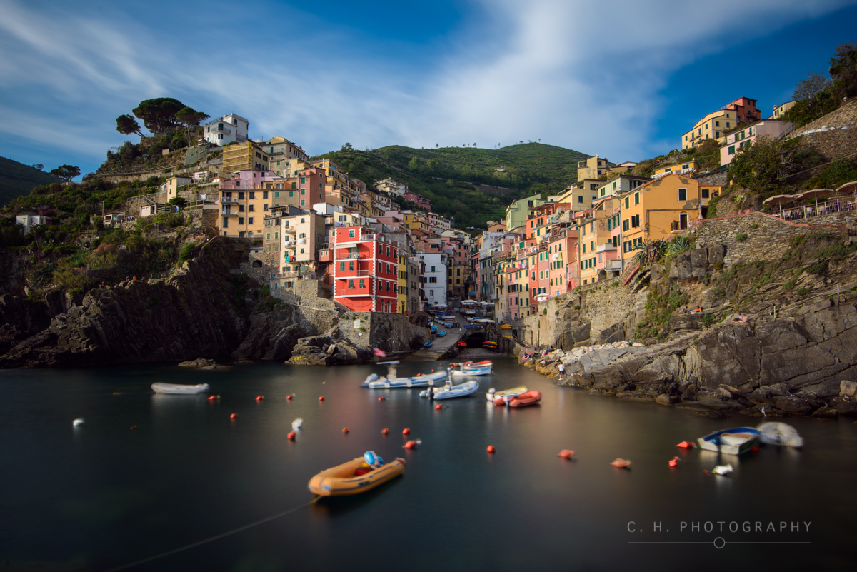 Cinque Terre Afternoon - Riomaggiore, Italy