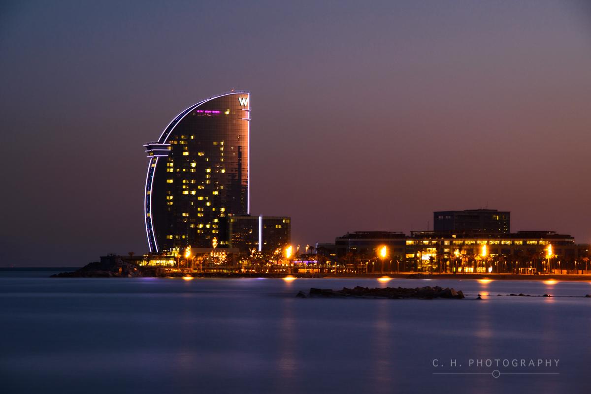 The W Hotel - Barcelona, Spain