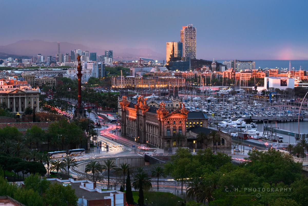 Last Light - Barcelona, Spain