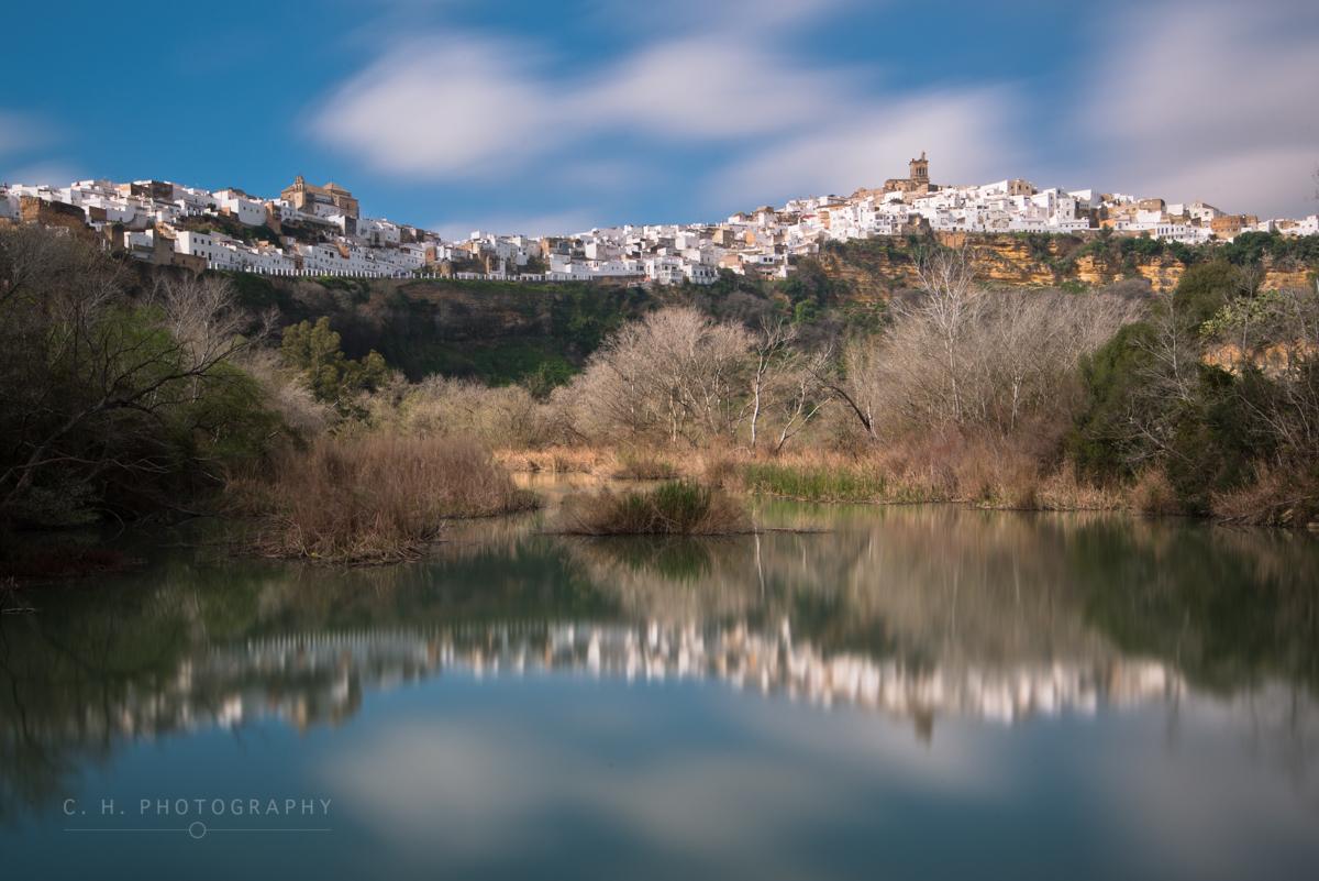 Skyline Reflection - Arcos de la Frontera, Spain