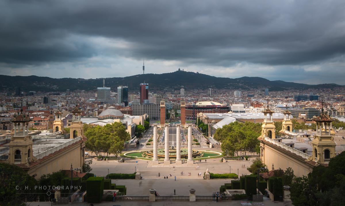 The Four Columns - Barcelona, Spain