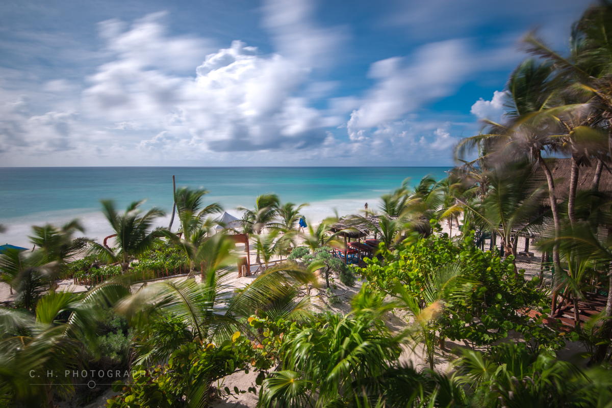 Windy Beach - Tulum, Mexico