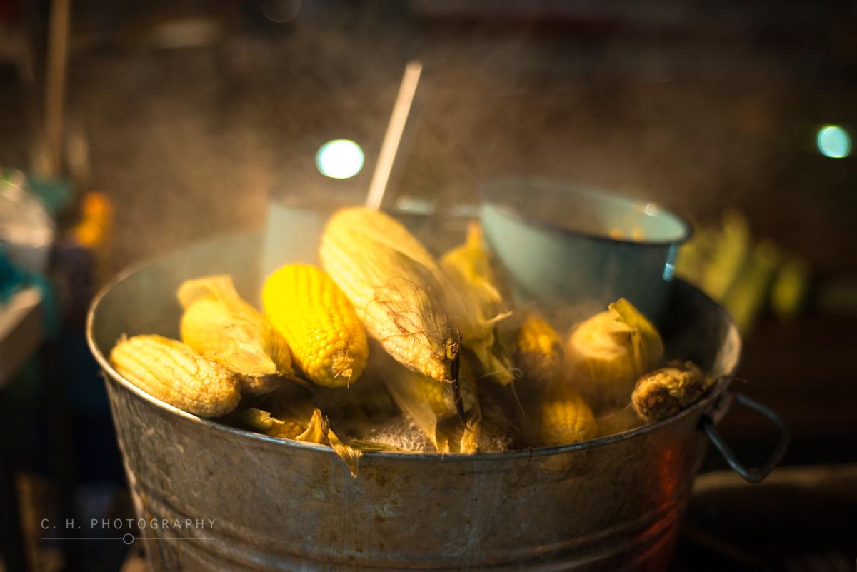Boiled Corn - Janitzio, Mexico