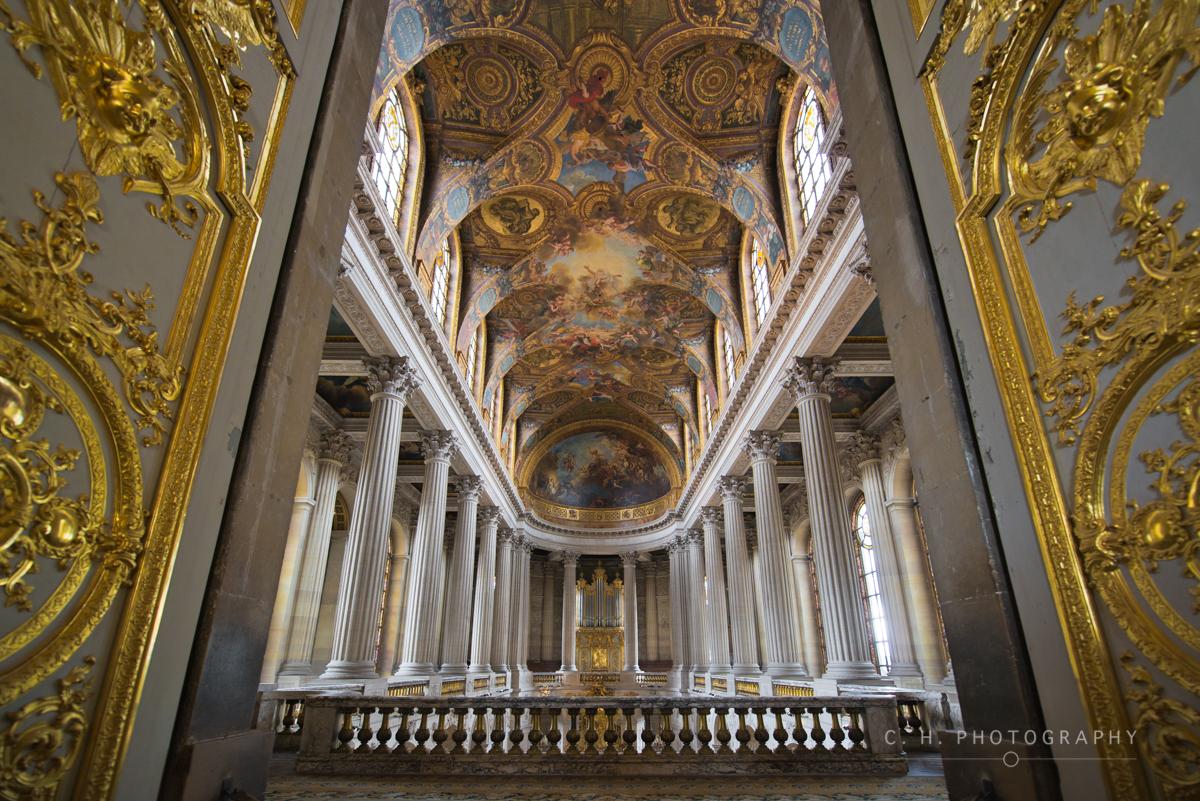 Chapel Doors - Versailles, France