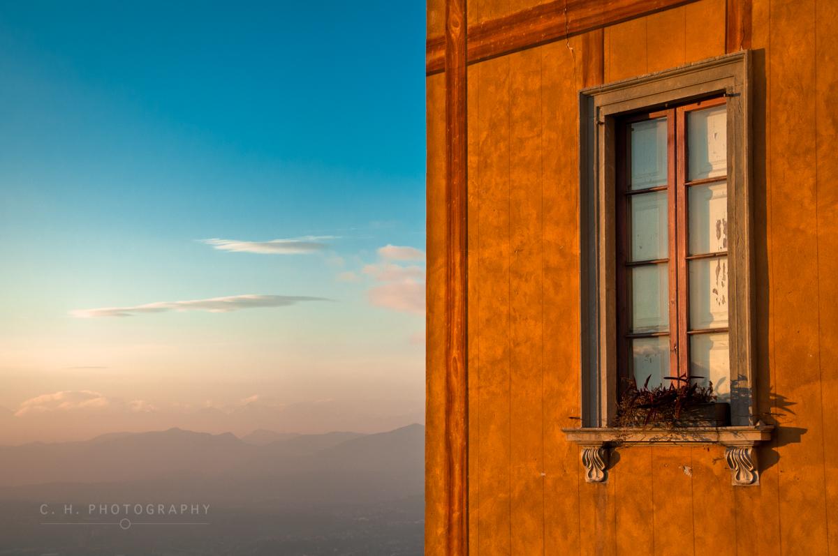 Window On A Mountain - Lago di Como, Italy
