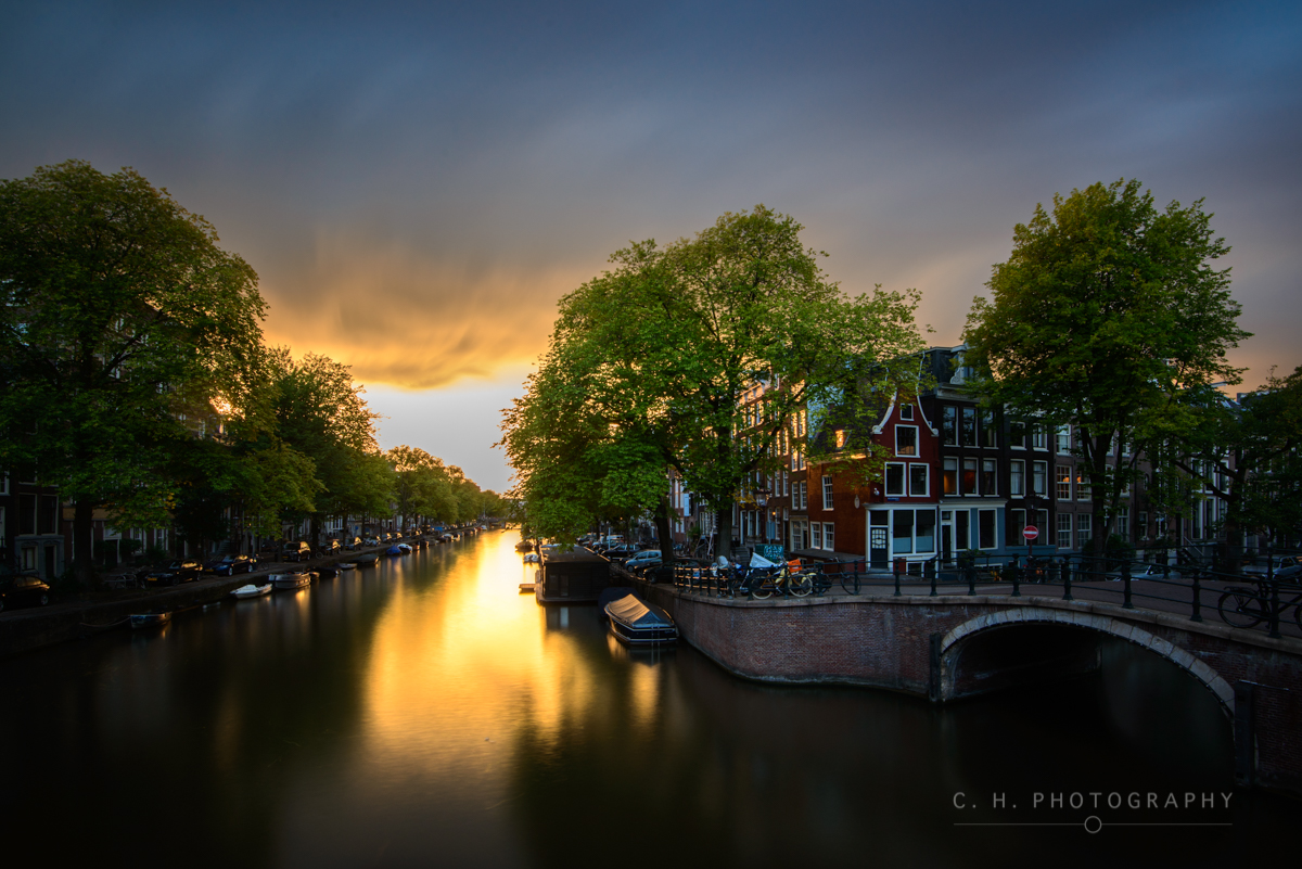 Prinsengracht and Reguliersgracht