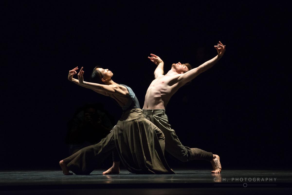 James Streeter and Erina Takahashi