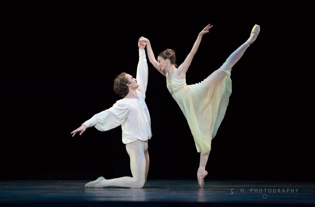 Matthew Ball and Lauren Cuthbertson