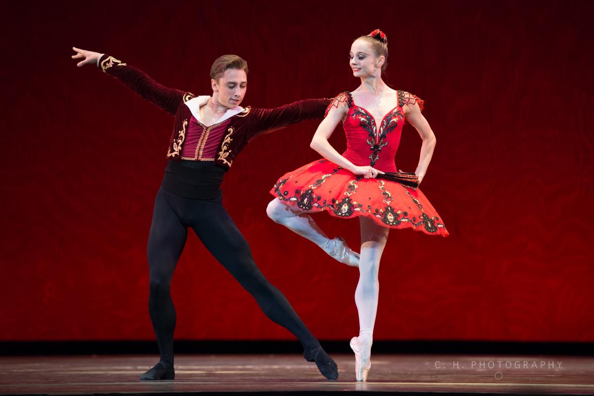 Denys Cherevychko and Maria Kochetkova