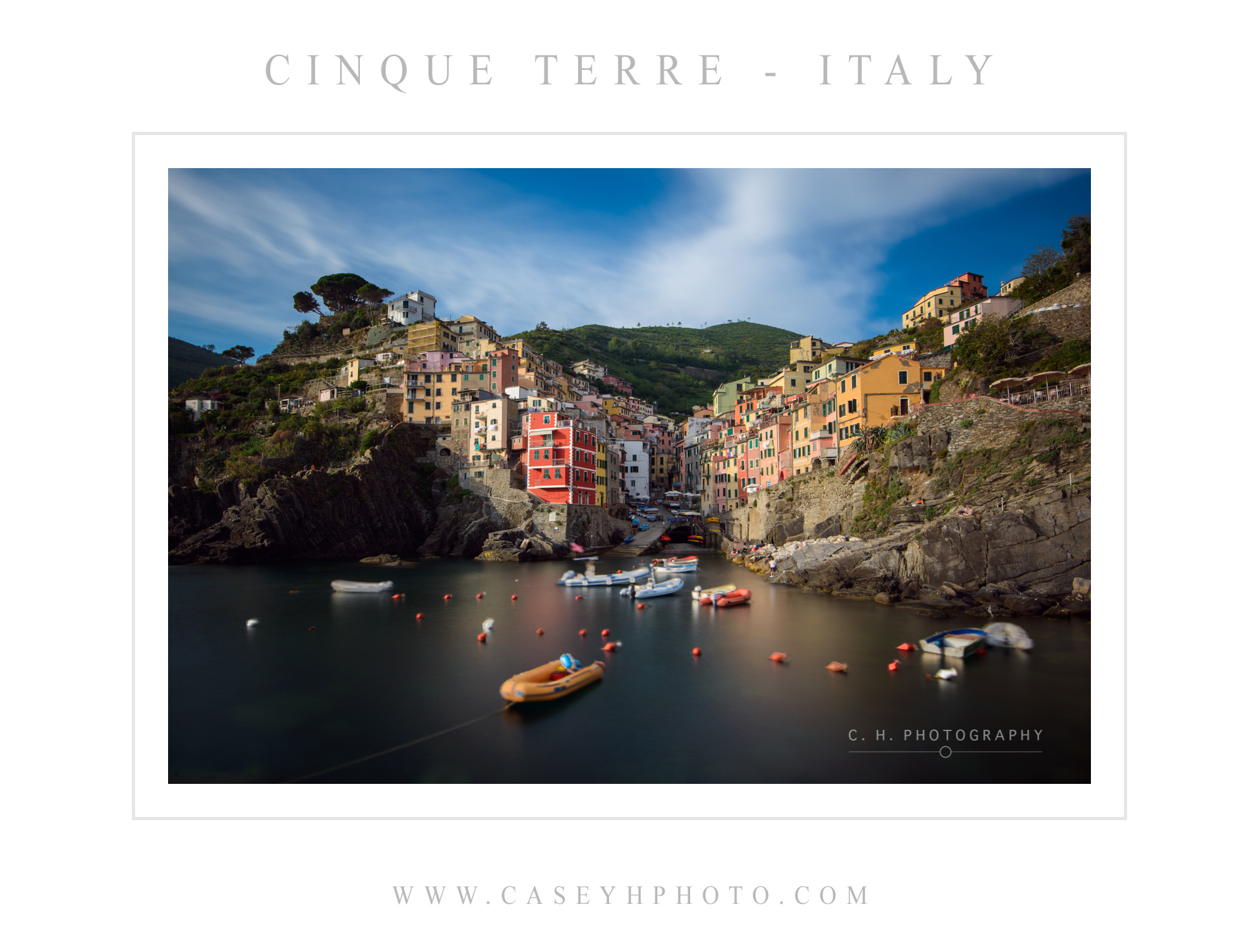 Riomaggiore - Cinque Terre - Liguria