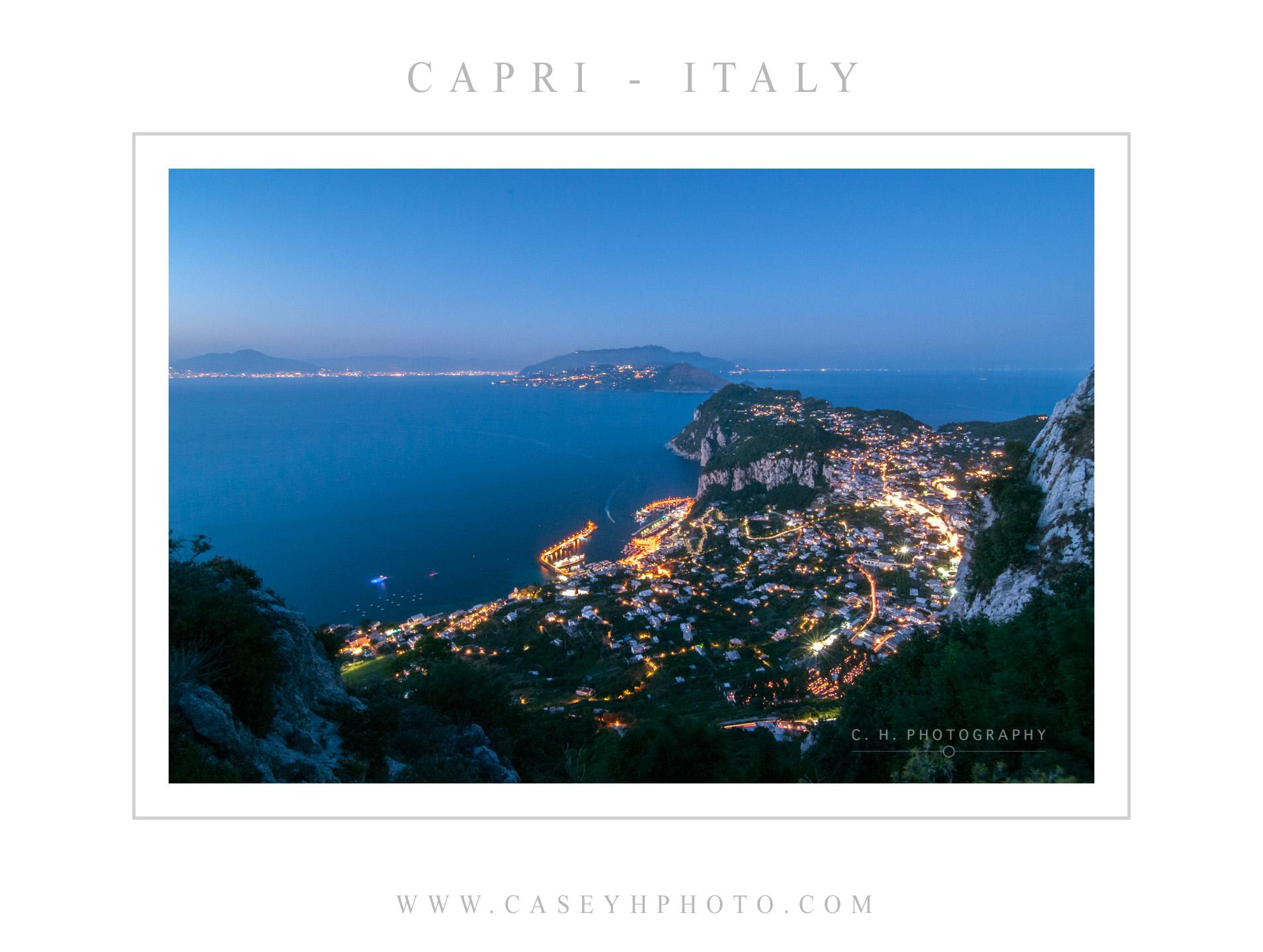 Capri - Amalfi Coast - Campania - Italy