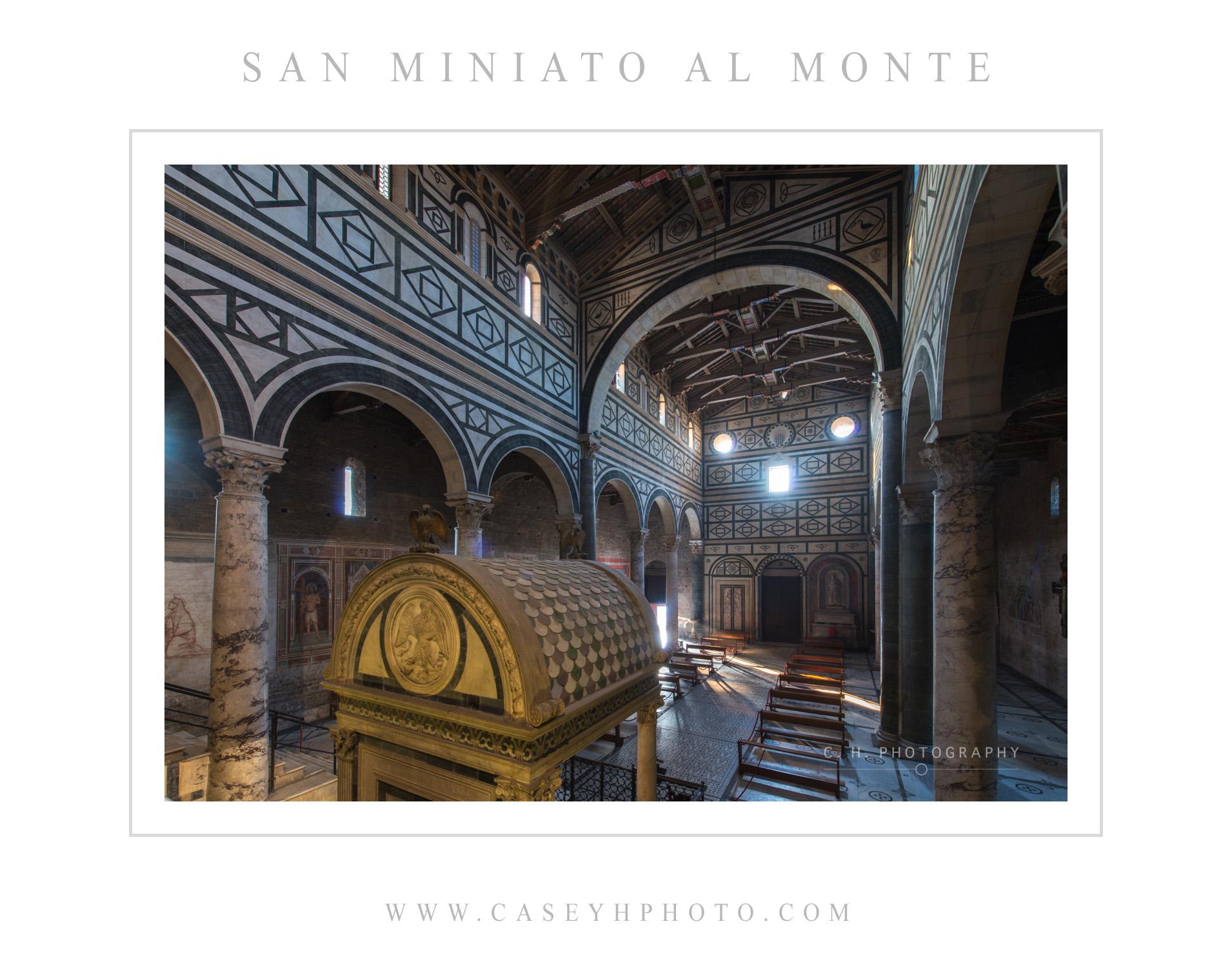 San Miniato al Monte - Florence - Tuscany - Italy