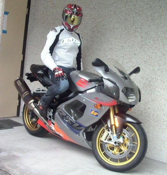 My Aprilia RSVR 1000