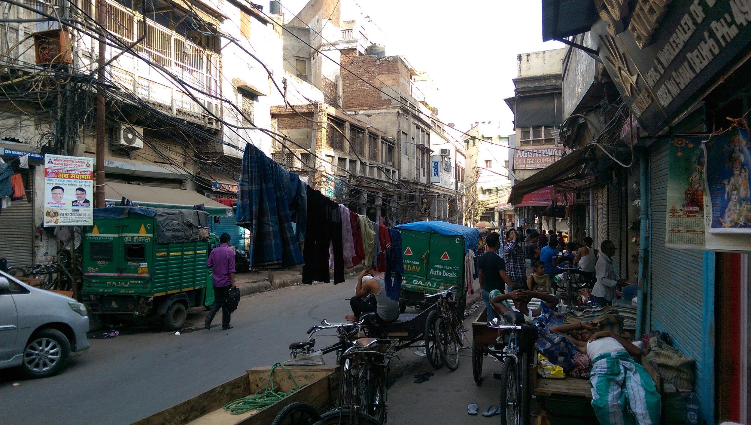 Crazy Streets - Old Delhi