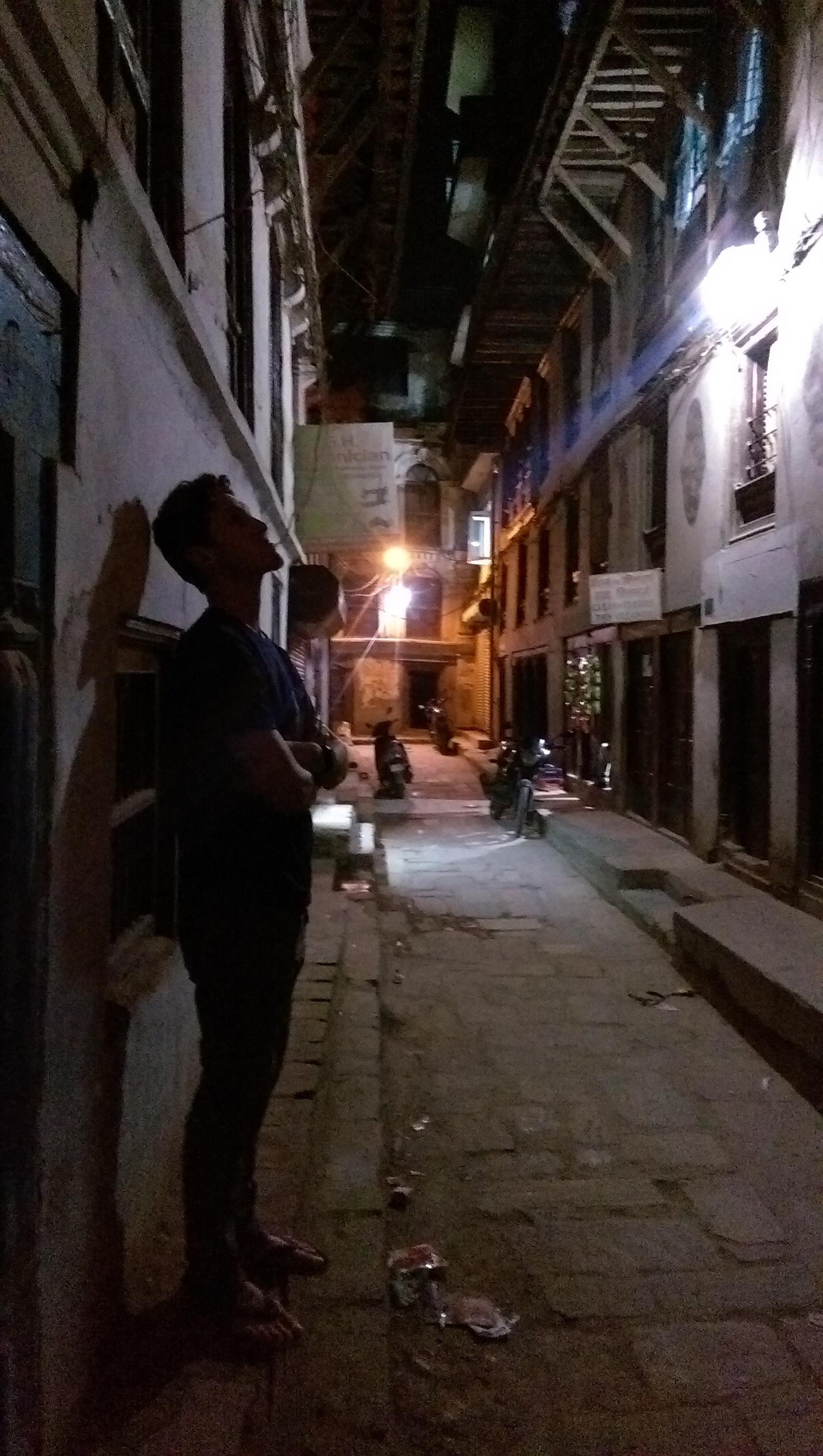 Night Walk - Kathmandu