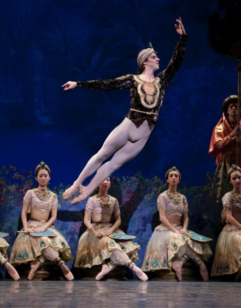 Casey Herd in The Dutch National Ballet's production of La Bayadère. Photo by Angela Sterling