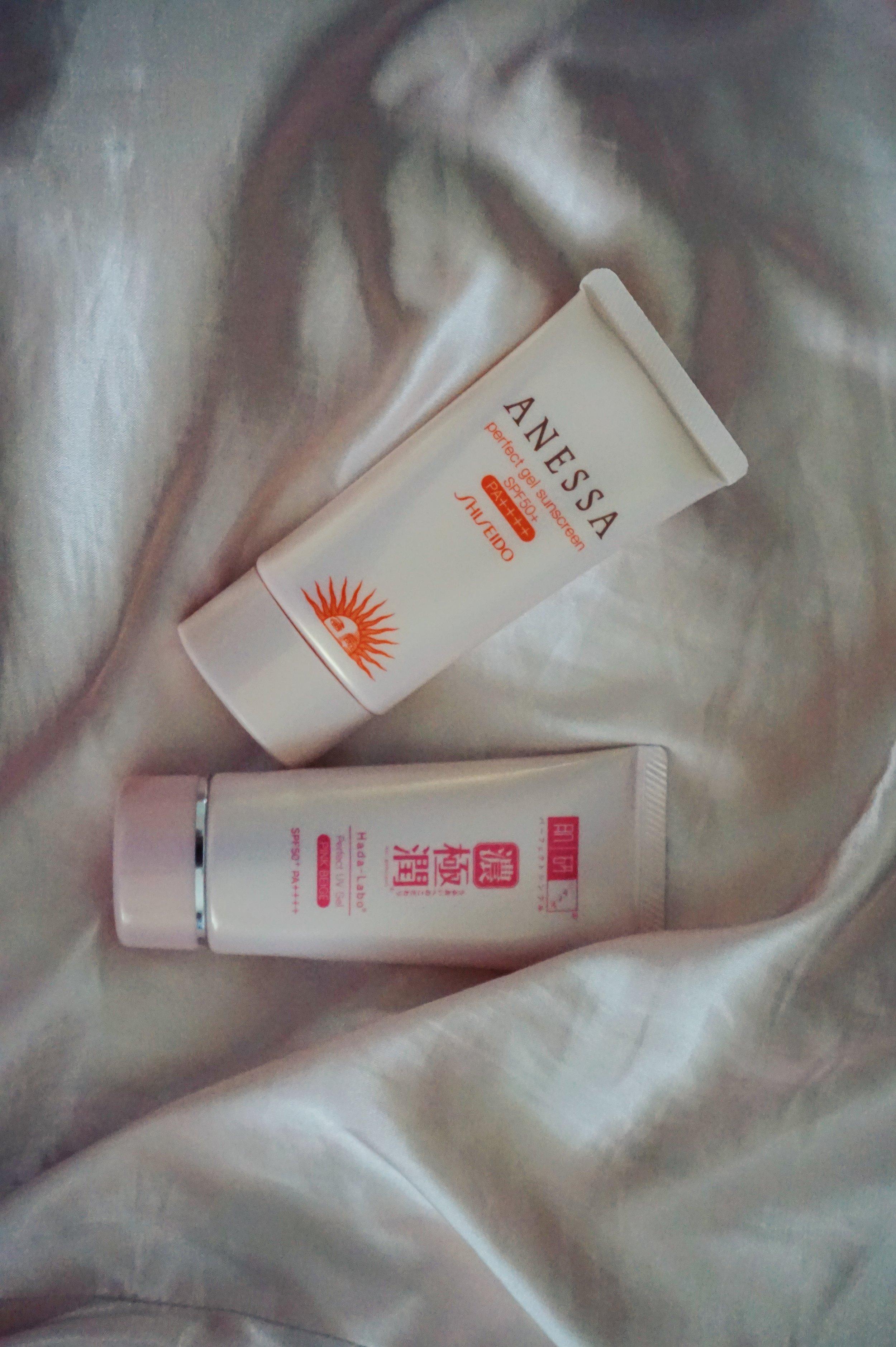 primer sunscreen shiseido anessa hada labo