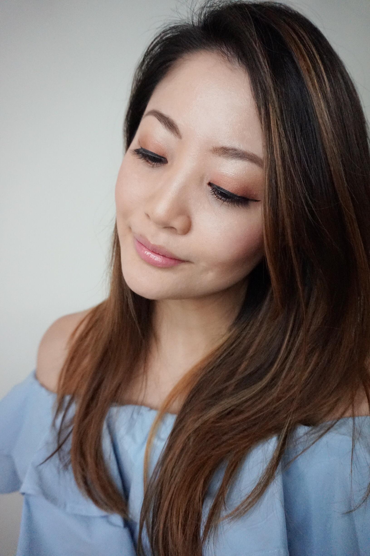 spring makeup essentials too faced sweet peach eyeshadow palette