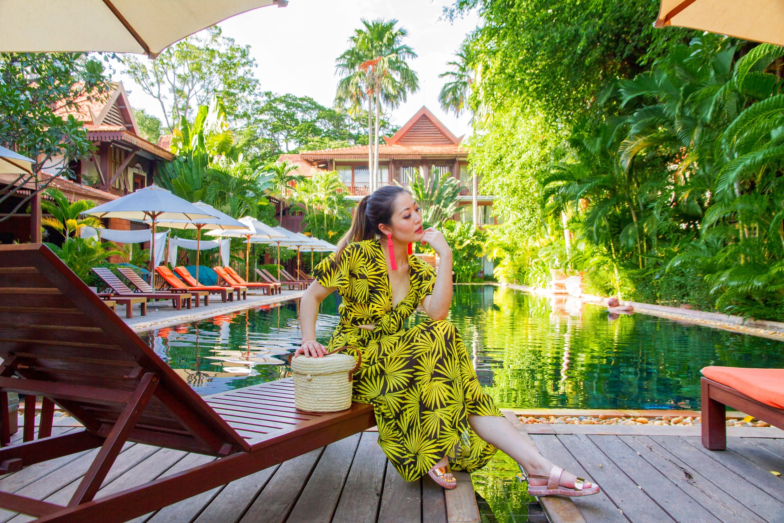 Heelsonthego Cambodia travel Siem Reap Belmond la Residence d'Angkor hotel