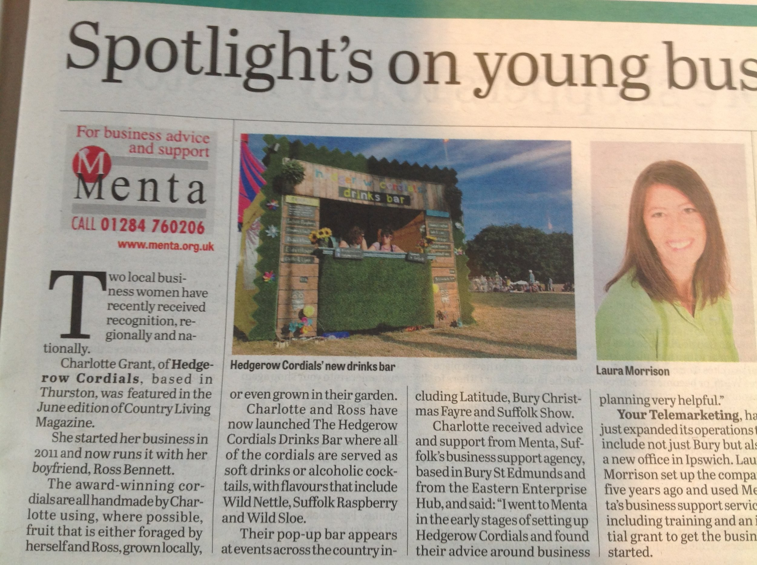 'Spotlight on Young Business'