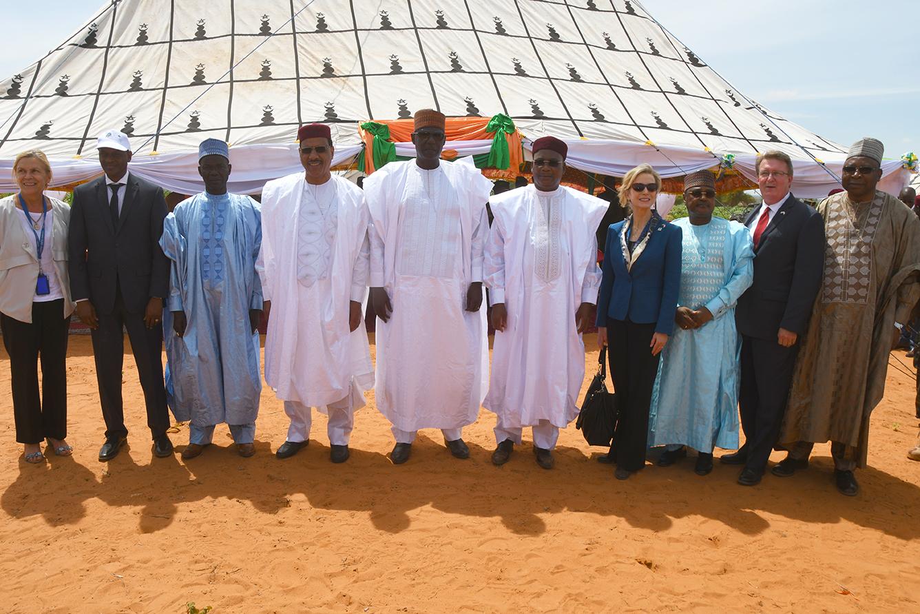 Lancement officiel à Margou (Région de Dosso) du Programme Compact Niger  du Millenium Challenge 1.jpg