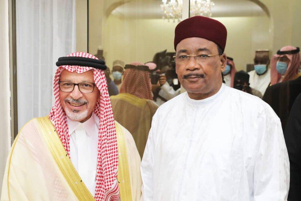 Le Président de République a reçu dimanche le Ministre d'Etat saoudien chargé des pays africains