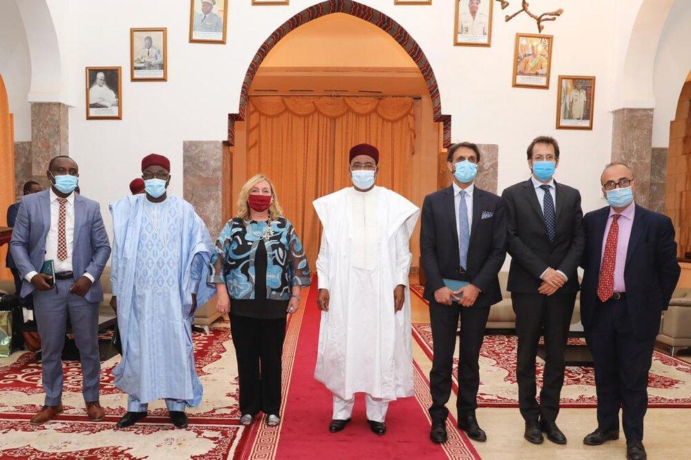 Le Président de la République a reçu mercredi la Vice-ministre italienne des Affaires Etrangères