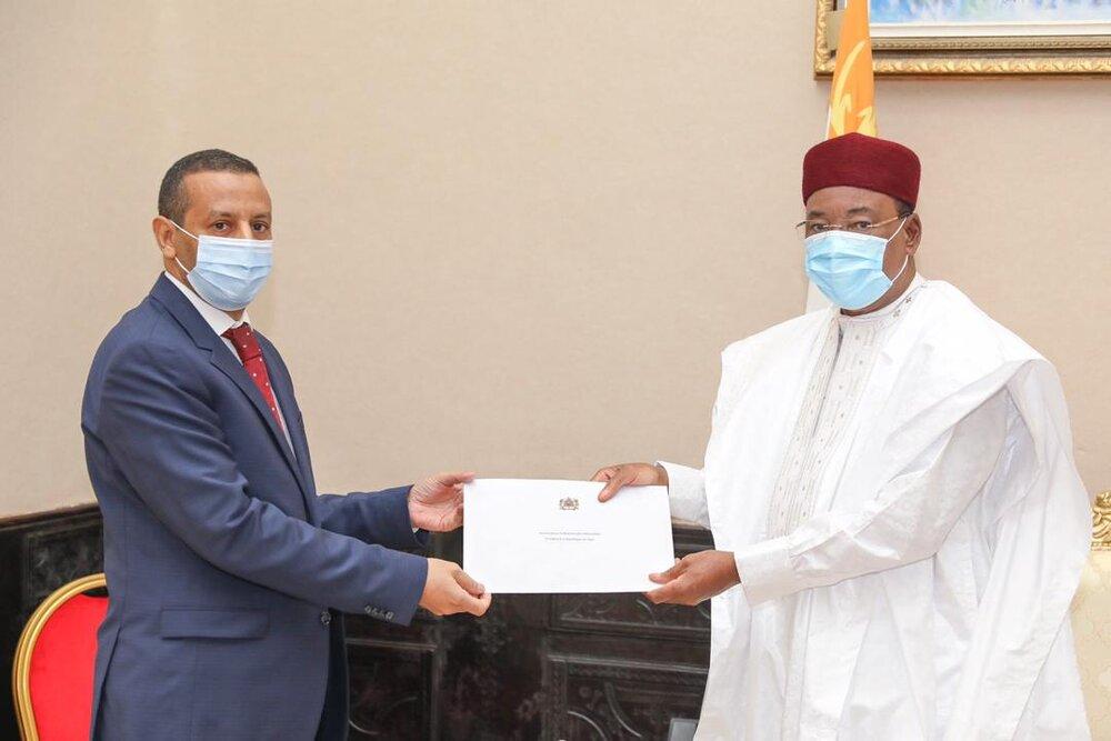 Le Président de la République a reçu mardi l'Ambassadeur du Maroc au Niger