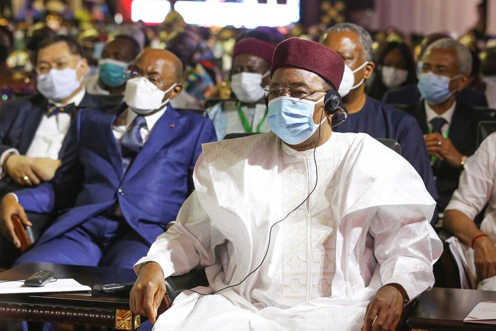 Le PR, Chef de l'Etat, SEM Issoufou Mahamadou, a pris part jeudi après-midi, 7 janvier 2021, à Accra, à l'investiture du Président élu de la République du Ghana, SEM Nana Akufo Addo.