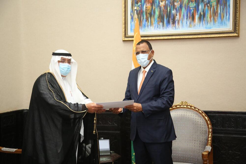 Le Président de la République a reçu jeudi l'Ambassadeur d'Arabie Saoudite au Niger