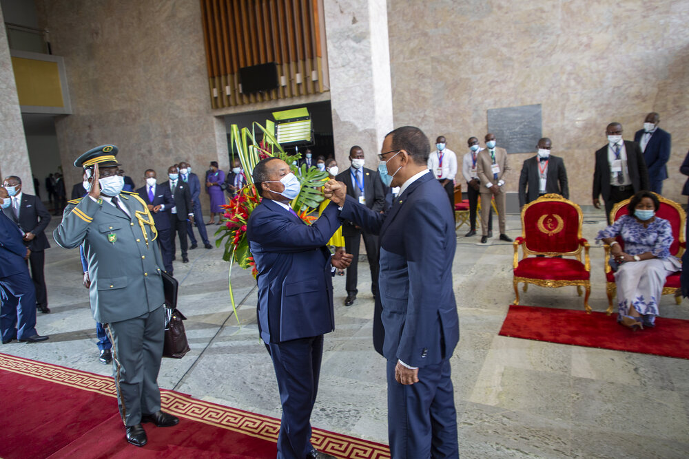 Le Président de la République Mohamed Bazoum a pris part vendredi à Brazzaville à l'investiture de son homologue du Congo Denis Sassou N'Guesso.