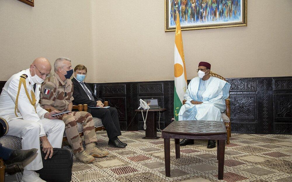 Le Président de la République a reçu mercredi le Commandant de la Force Barkhane