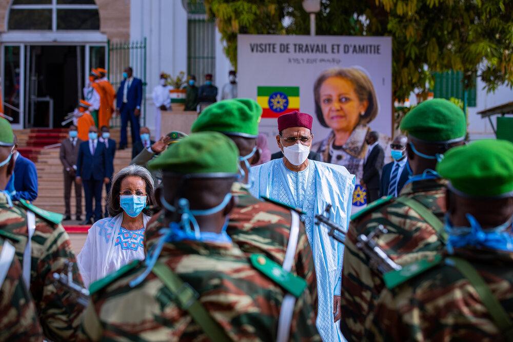 Visite de travail et d'amitié de la Présidente d'Ethiopie au Niger