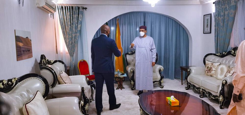 Le Président de la République a reçu samedi le Secrétaire Général de la ZLECAF