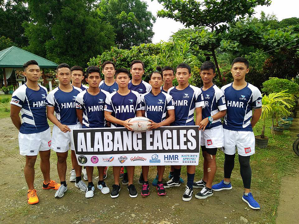 The Tuloy under 19 rugby players beat Cebu for the champions title in Punta Prinsesa Palawan. July 23, 2017
