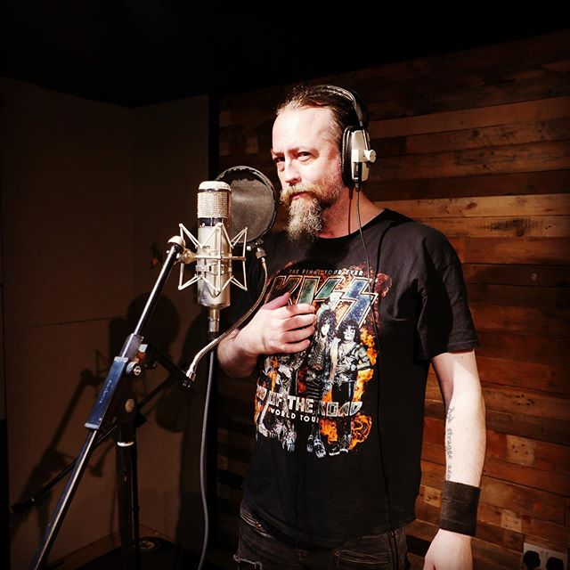 Benediction's Dave Ingram at the mic. Vox on the album are classic 90's death metal. Sounding killer. #deathmetal #heavymetal #metal music #90'smetal #benediction #nuclearblastrecords