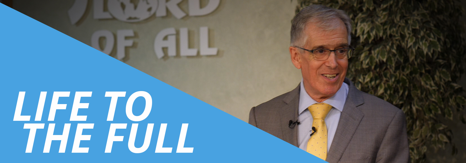 """Hugh's brand new teaching series """" Life to the Full """" is now available stream, download and watch online."""