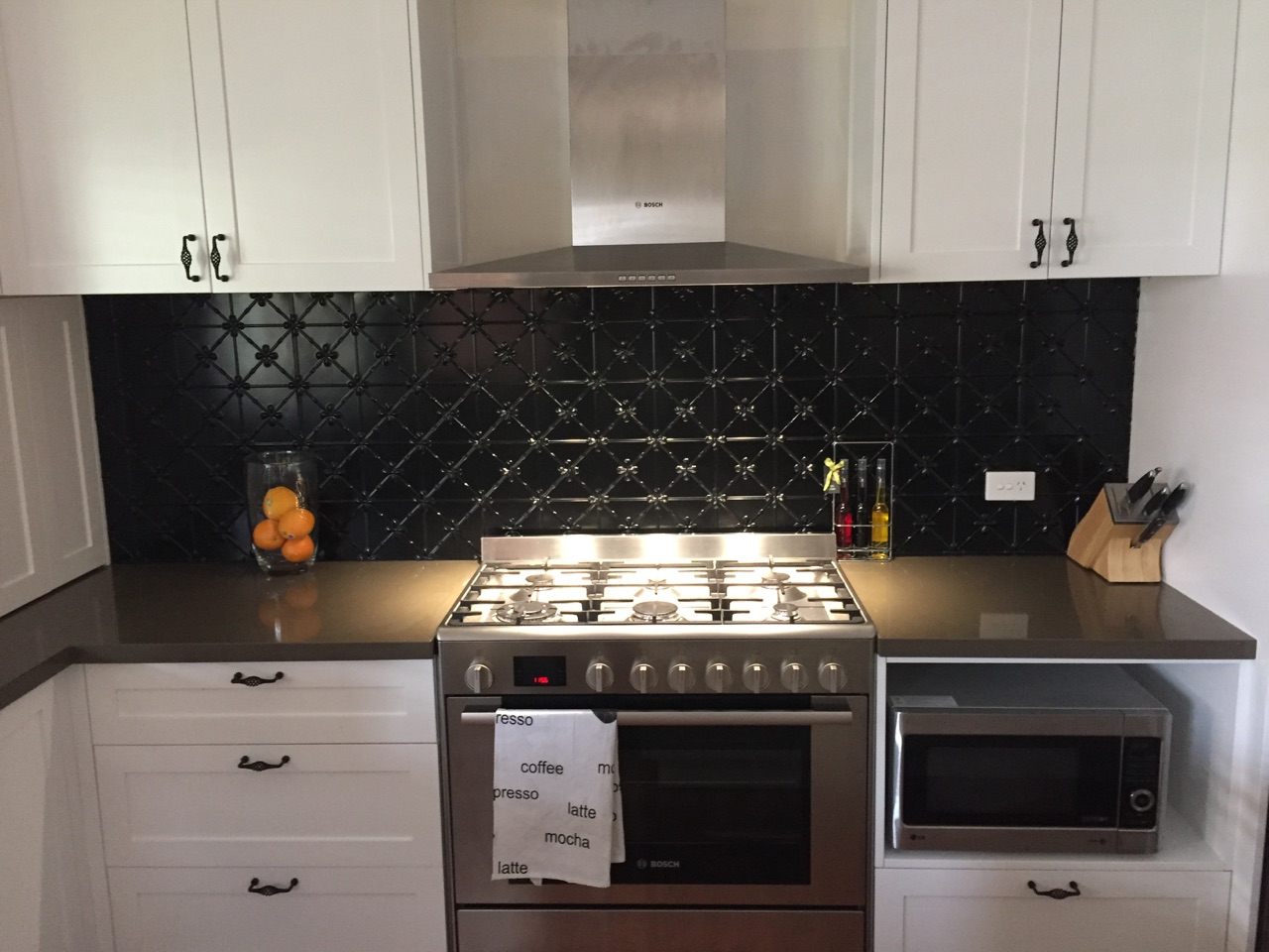 House of Splashbacks Pressed Steel