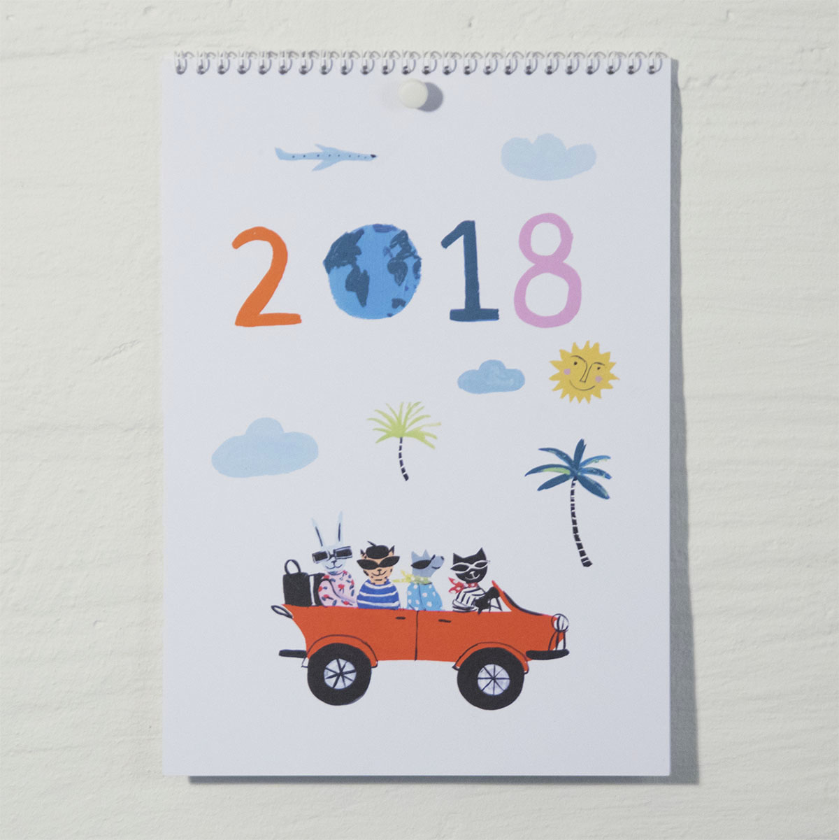 Cal_cover Susse Collection Calendar 2018