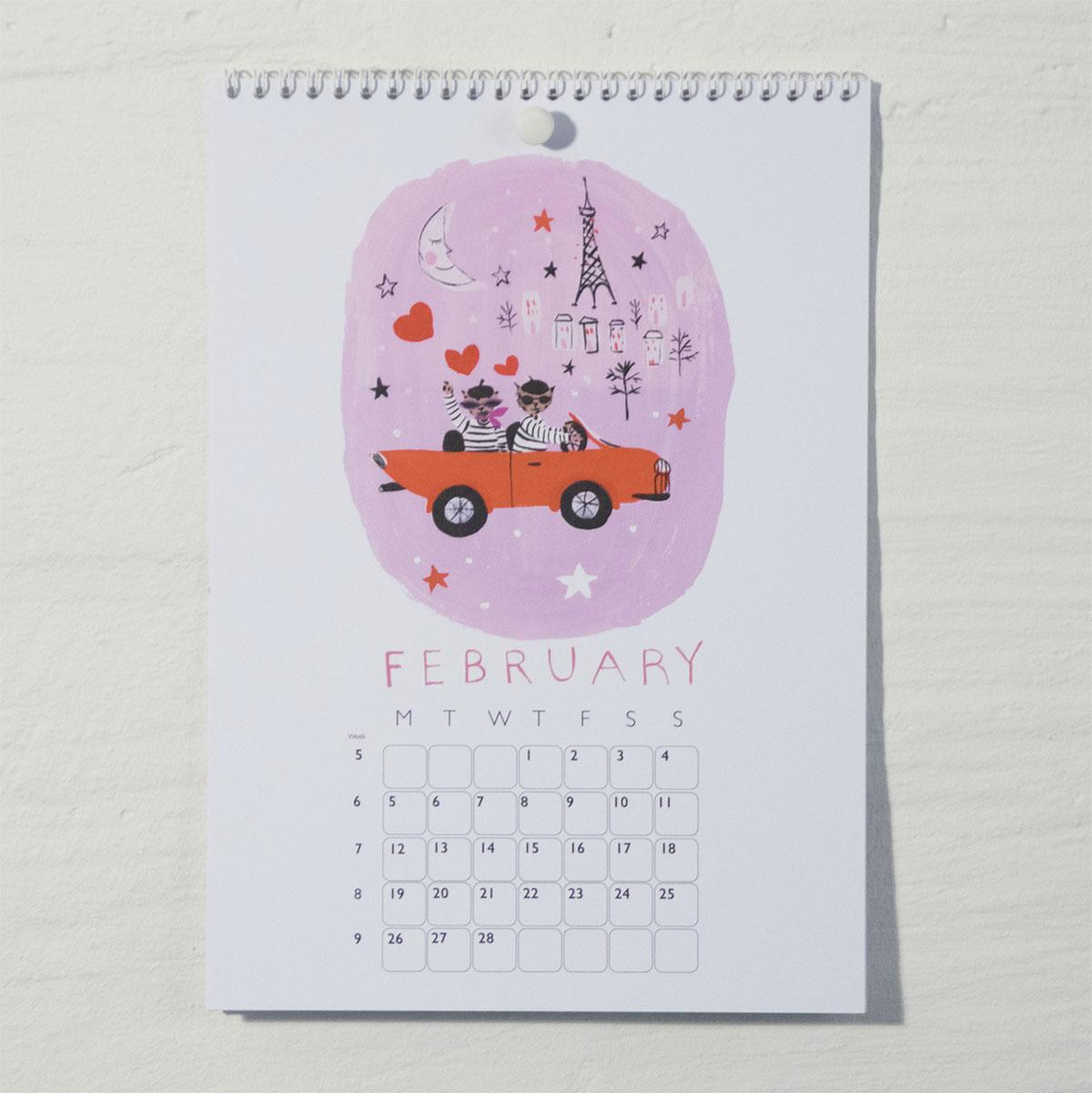 Susse Collection shop Calendar 2018 2