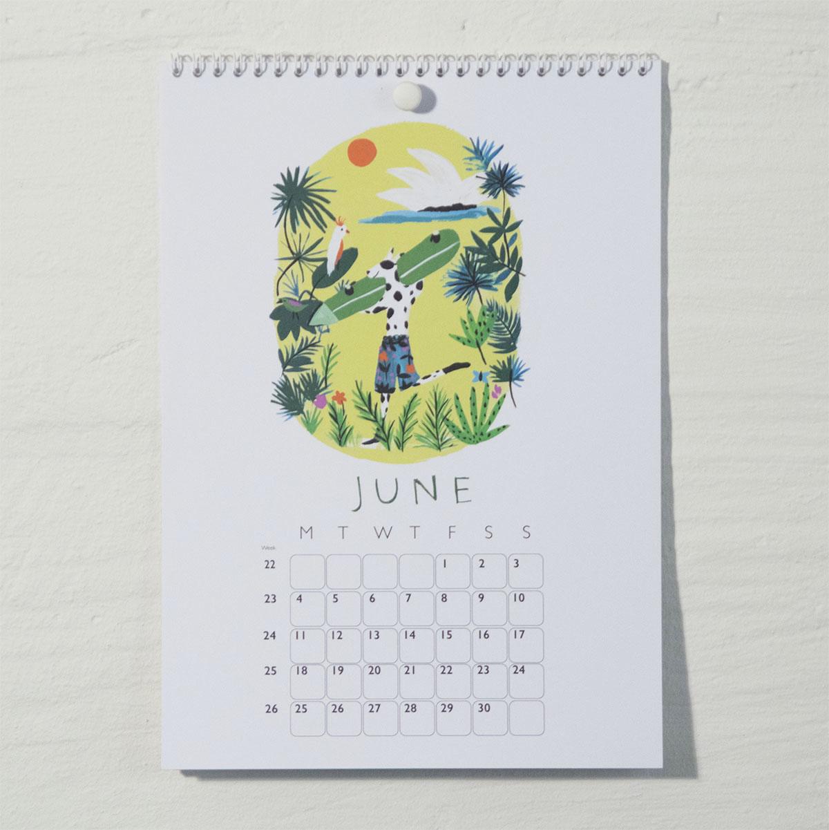 Susse Collection shop Calendar 2018 . 6