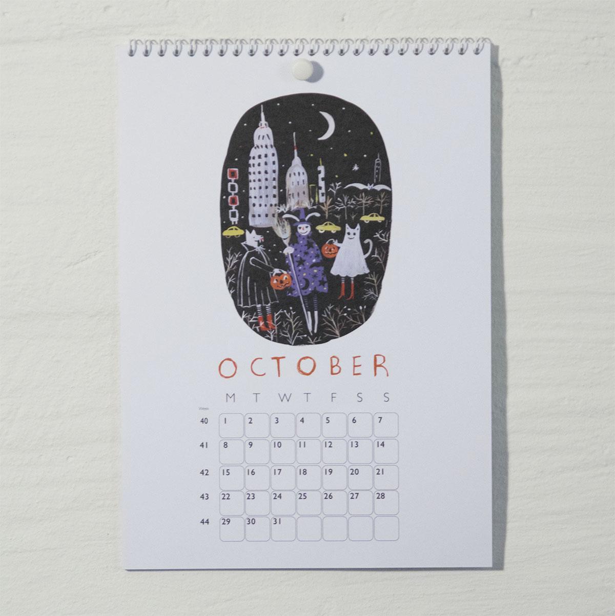 Susse Collection shop Calendar 2018 10