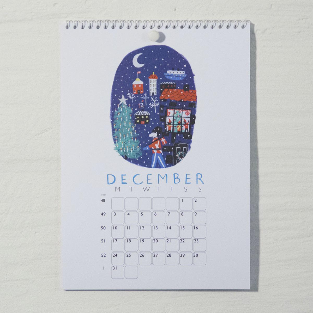 Susse Collection shop Calendar 2018 . 12