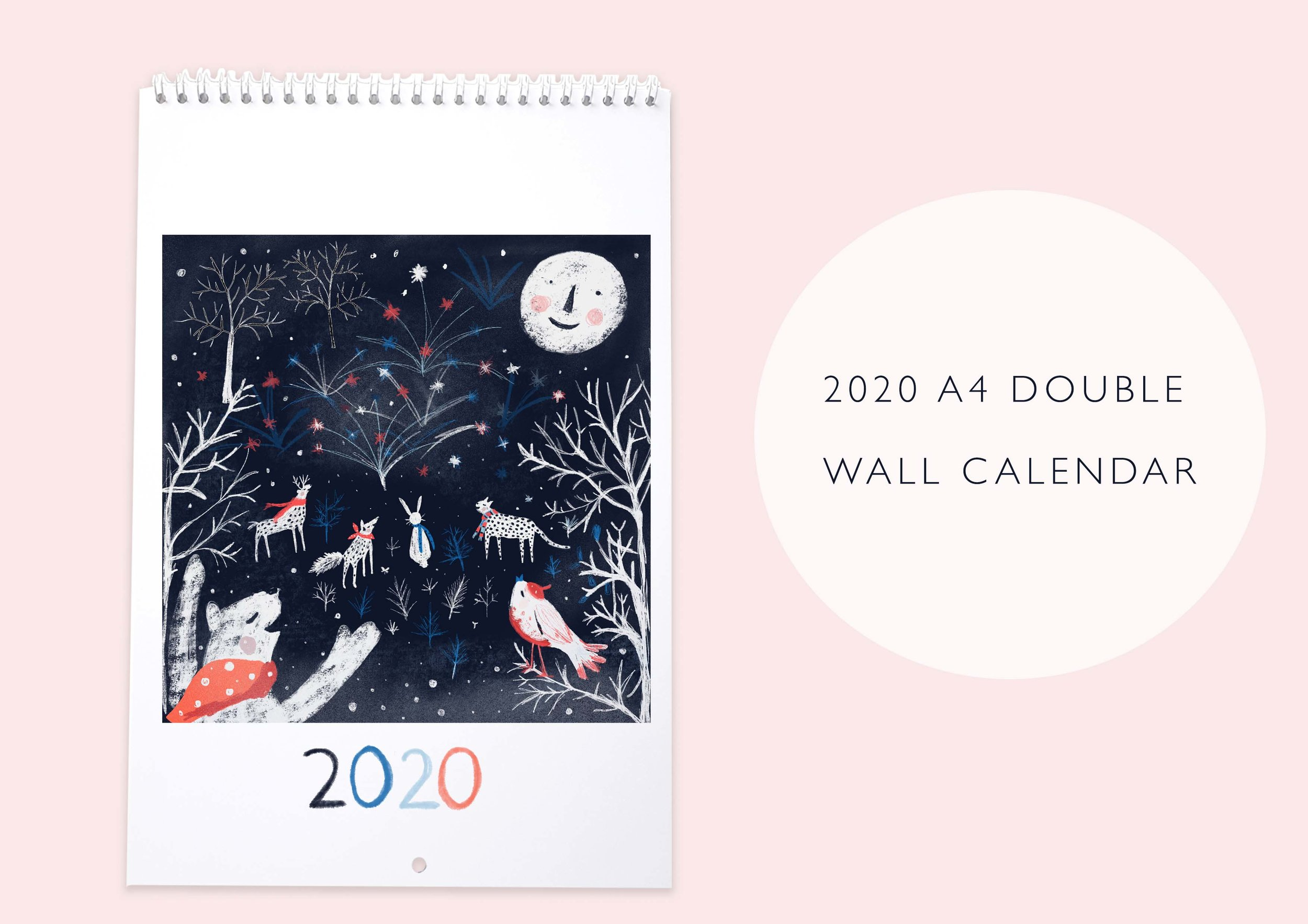 2020 Susse Collection A4 Wall Calendar.jpg