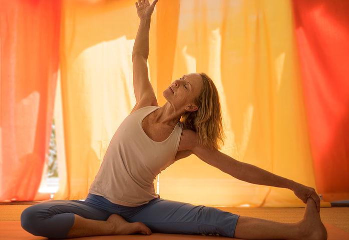 Yoga bei Rückenbeschwerden by Eve Eichenberger