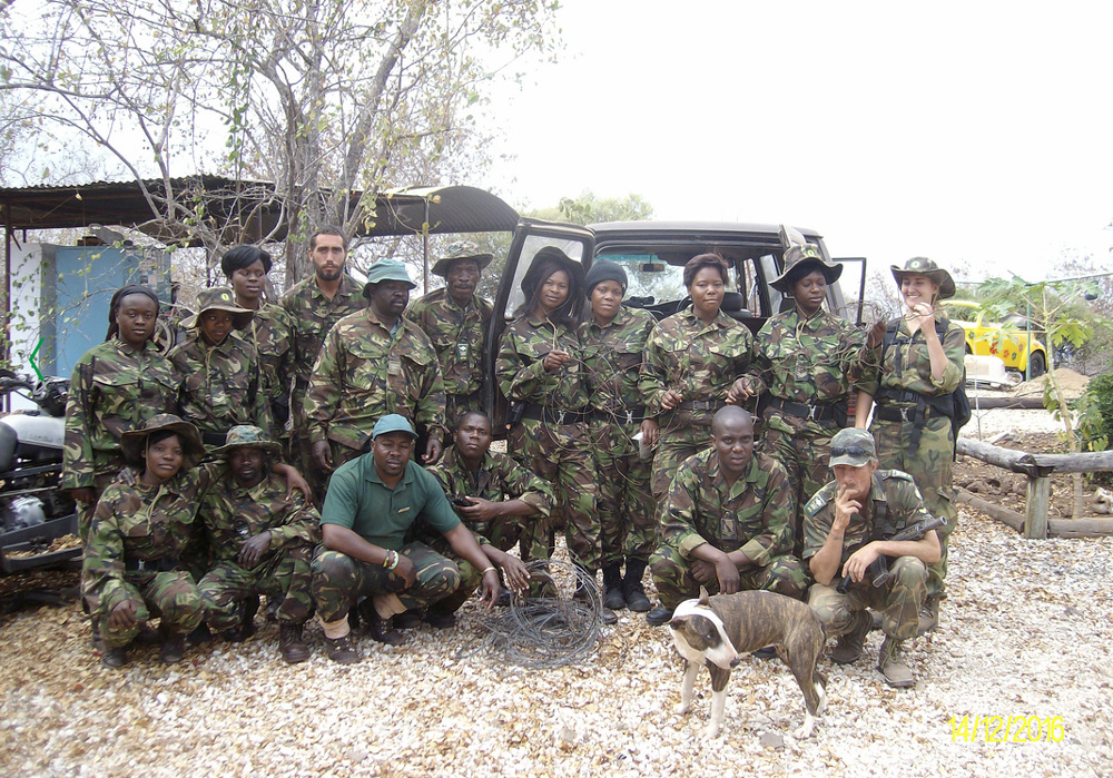 53 snares removed in a day in a joint operation between ProTrack and Black Mambas bordering Balule Nature Reserve