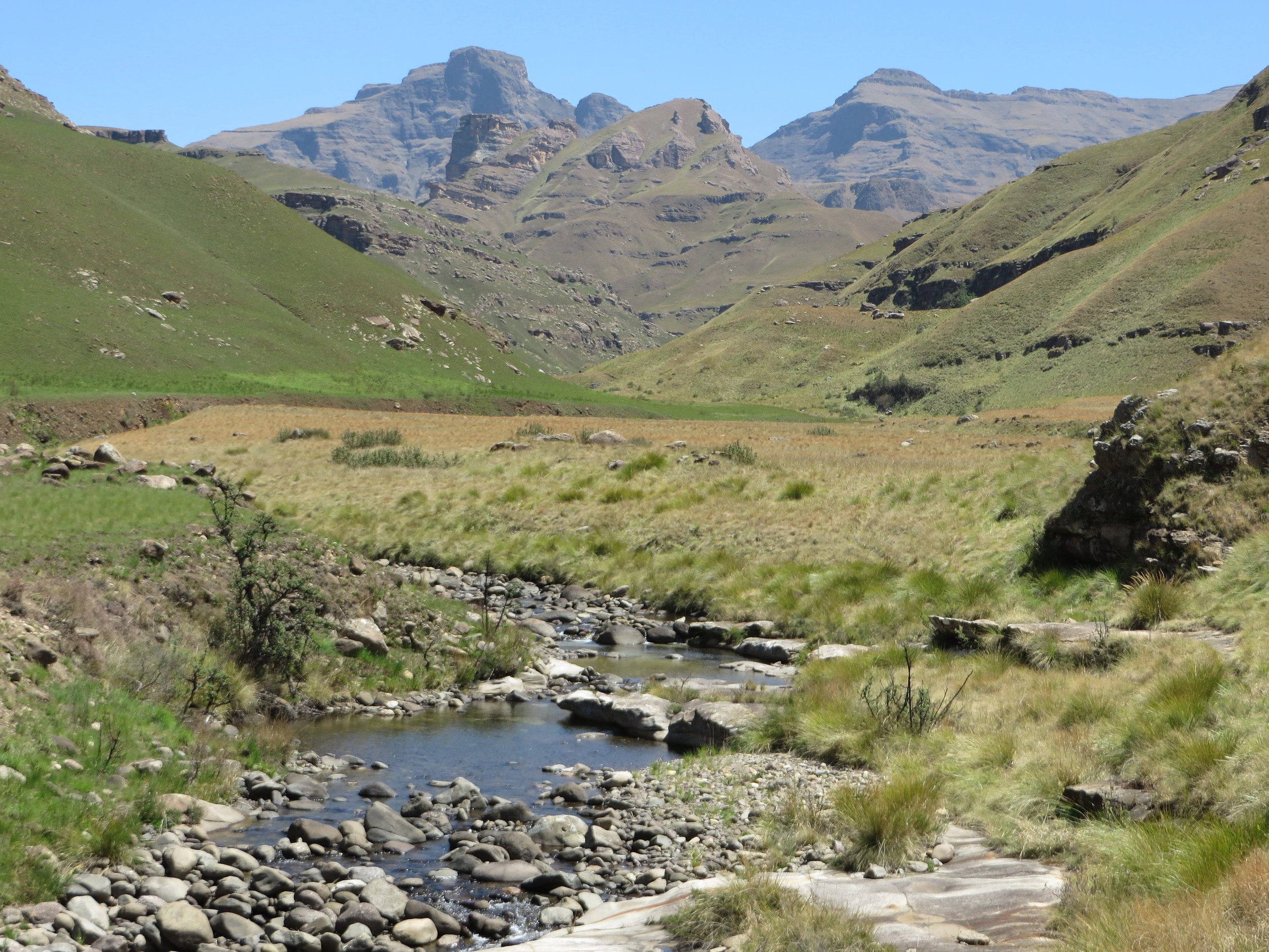 Underberg vistas: a perfect setting for a meditative retreat weekend
