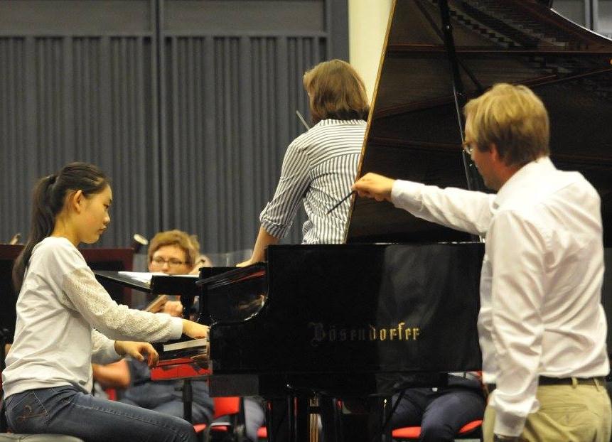Teaching at Hamamatsu International Piano Academy
